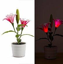 2018 Dekorative Blumen Hauptdekoration LED Solar