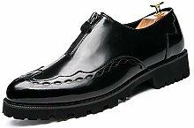 2018 Mens Shoes, Männer Spiegel PU Leder Oxfords
