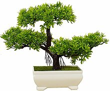 2018 Pflanzen Dekoration Künstliche Bonsai Zeder