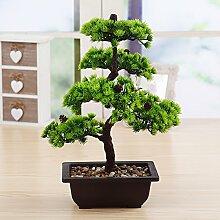 2019 Künstliche Bonsai Baum Pflanze für Büro