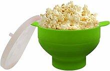 2020 Neue Popcorn-Mikrowelle-Silikon-faltbare rote