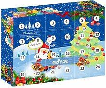 2020 Weihnachts Adventskalender Spielzeug, 24PCS