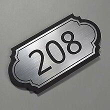 20cm schwarzes Acryl Hotel Company Türschild