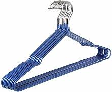 20eine]/Überstreichung/[seamless hook]/getränkt kunststoff kleiderbügel.mehrere farben.blue-Blau
