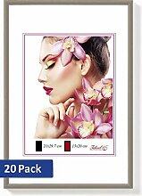 20er Set Ideal Light Kunststoff Bilderrahmen 20x30