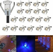 20er Set LED Lampen 0.4W Mini Treppen