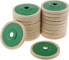 20er Wolle Stützteller Polierfilz Schleifen Pad,