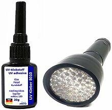 20g UV-Kleber 8010 dünnflüssig mit 51er LED UV