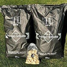 20kg (2x10kg) BBQKontor Premium Buchenholzkohle -