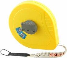 20M Yellow Kunststoffgehäuse Weiche Zugband