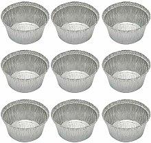 20pcs 285-ml-Rund Zinnfolien Bowl Grill Tin