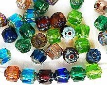 20pcs Picasso Crystal Mix Kathedrale Facettierten