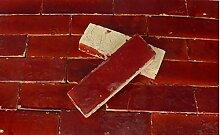 20Stk. Cotto Brikett Bodenplatte rot Bodenfliesen
