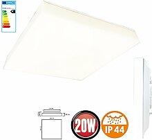 20W LED Panel Aufputz Oberputz Wandlampe