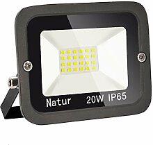 20W LED Strahler Außen Superhell LED Fluter 6000K