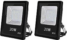 20W LED Strahler Außenstrahler, Superhell 10000LM