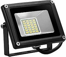 20W SMD LED Außen Fluter Licht DC12V-24V Strahler Sicherheitslichter Floodlight Warmweiß