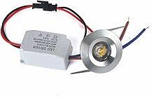 20X 1W Mini LED Einbaustrahler mit Trafo