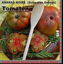 20x ANANAS NOIRE Schwarze Ananas Tomatensamen Samen Pflanze Rarität Tomate essbar lecker Gemüse #256