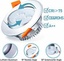 20x LED Einbaustrahler Deckenleuchte Einbauleuchte