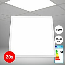 20x Xtend LED Panel 62x62 warmweiß 3000K 40W