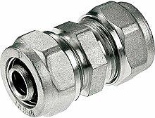 20x16mm PEX-AL-PEX-Messing-Klemmringverschraubungen Union Nippel