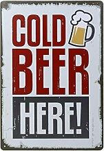 20x30cm Jahrgang Metall Blechschild Plaque Wandkunstplakat Caf¨¦ Bar Pub Bier # 6