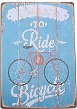 20x30cm Vintage Metall Blechschild Blechbilder Plaque Wand Kunst Plakat Cafe Bar Pub Car - 05