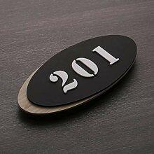 20X9 Cm Haus-Hotel-Türschild der