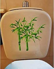 21,4 * 20 Cm Handgemalte Bambus Wc Wc Aufkleber