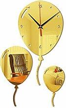 21-KING Acryl-Ballon-DIY-Wanduhr-kreativer