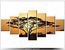 210 x 100 cm - Afrika - Uhr Wand Tisch modern -