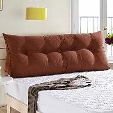 22 * 50 * 120cm Dreieck-Sofa-Kissen Matten-Kissen-doppeltes Bett-weiches Beutel-Bett-Kissen-Bett-Rückenlehne entfernbar ( Farbe : # 5 )