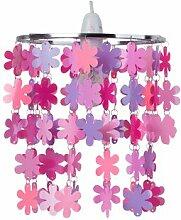 22 cm Lampenschirm Blumen aus PVC Roomie Kidz