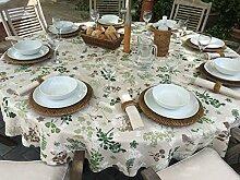 220cm Durchmesser rund Sonnenschirm Loch Garten Tischdecke mit geknöpfter scheinen–8-Sitzer