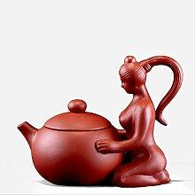 220 ml kreative Ton-Teekanne, zum Basteln