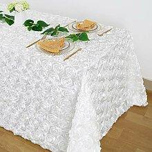 228 x 228 cm wunderschöne weiße Rosette