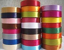 23 Meters Satinband 20 mm in mehreren Farben als