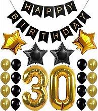 23 Stück/Set 30/40/50/60. Geburtstag