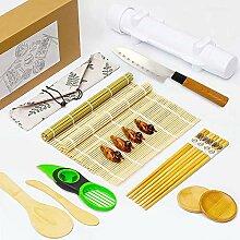 23-teiliges Sushi-Set aus Bambus-Sushi-Matten für