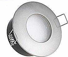 230V Bad Einbaustrahler Bädermax Farbe: Edelstahl
