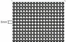 234 Strasssteine selbstklebend Glitzersteine zum Aufkleben rund Glitzer Aufkleber 5mm groß schwarz