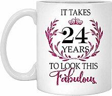 24. Geburtstagsgeschenk Für Frauen-Es Dauert 24
