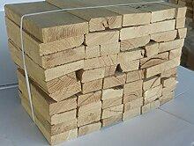 24 Kg Brennholz EXTRA für Kleine Kamine, Öfen, Bolleröfen reine Eiche ohne Rinde, sauber, trocken, einfaches Stapeln