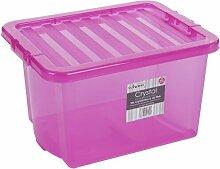 24 l Kunststoff-Aufbewahrungsbox ClearAmbient