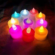 24 LED Kerzen, GTQC LED Flammenlose Tealights,