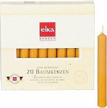 24 Packungen Eika-Christbaumkerzen naturgelb, 24er