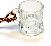 24 Schnapsglas mit Henkel am Band, Kohlfahrt,
