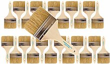 24Stück Single X Dick Farbe und Chip Pinsel
