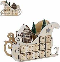 24 Tage Bis Weihnachten Kalender Mit